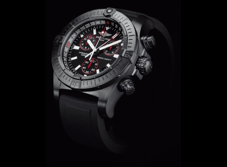 Breitling Avenger Seawolf Blacksteel: extrapřesné a vodotěsné hodinky