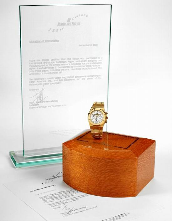 Audemars Piguet Royal Oak Indianapolis jdou do dražby v síni Antiquorum