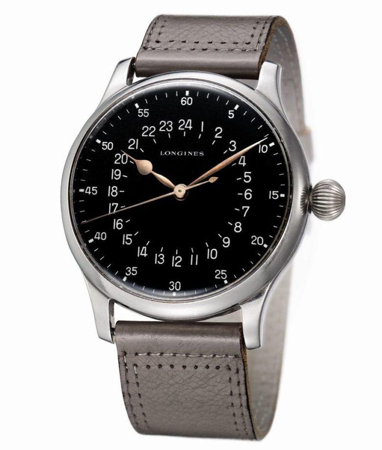 Původní model Longines se 24-hodinovým číselníkem