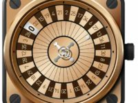 Bell & Ross BR01 Casino Pink Gold