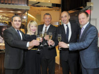 Zleva: Farid Matraki, A. Mishcon, J.-C. Babin, Phillipe Pascal, Ulrich Wohn