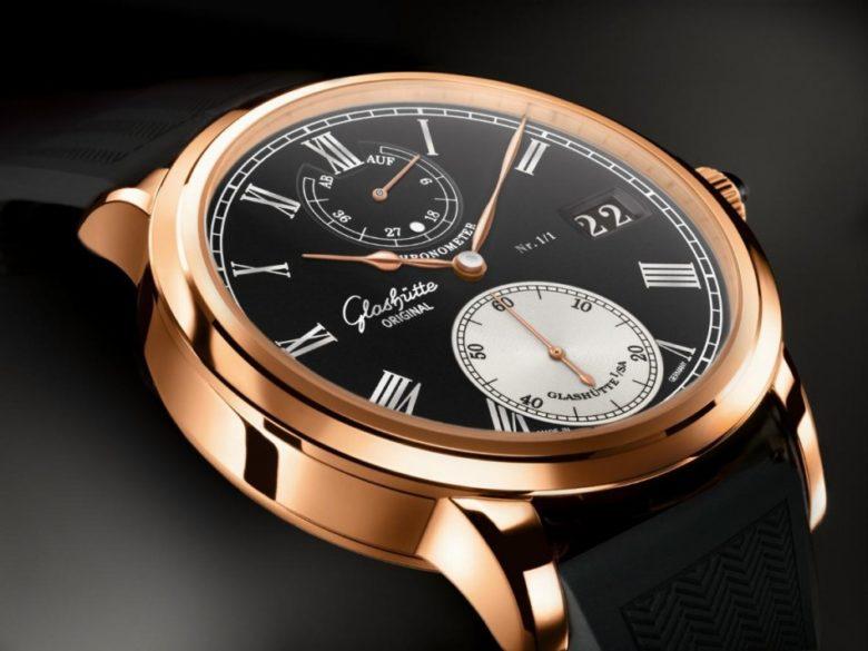 Glashütte Original Senator Chronometer pro Only watch