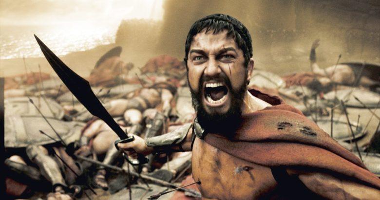 Gerard Butler ve filmu 300: bitva u Thermopyl (2006)