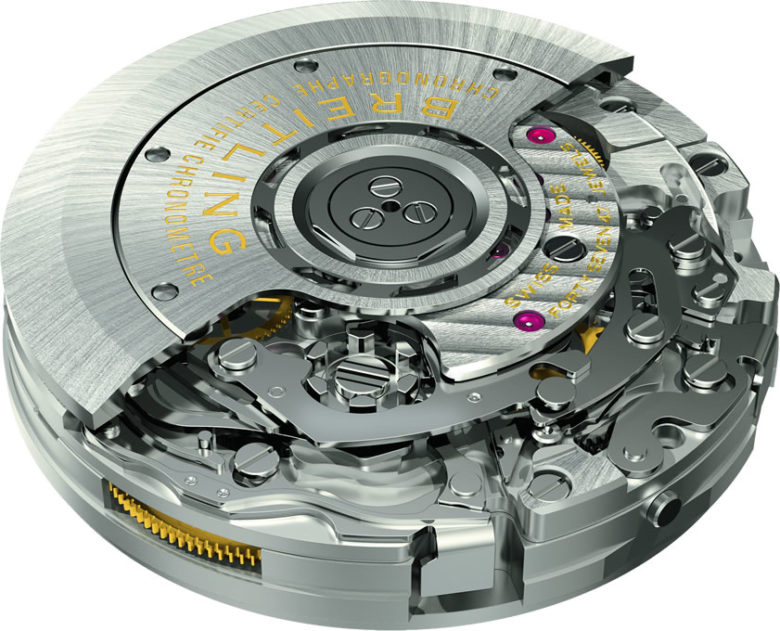 Breitling Calibre 01 (in-house strojek)