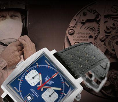 Heuer Monaco (1969) ve filmu Le Mans (1972)