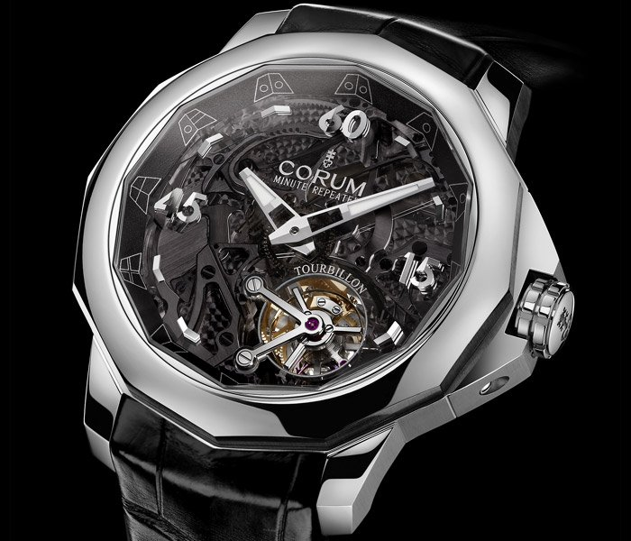 Corum Admiral´s Cup Minute Repeater Tourbillon