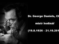Zemřel George Daniels. Geniální hodinář a otec mechanismu Co-Axial
