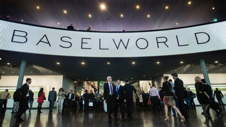 Hlavní brána veletrhu Baselworld (zdroj: Watchpro.com)
