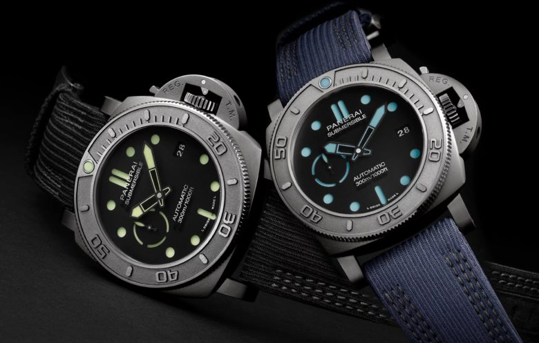 Panerai Submersible Mike Horn Edition PAM 984 a PAM985