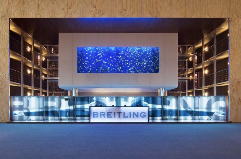 Prezentace značky Breitling na veletrhu Baselworld