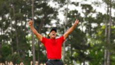 Tiger Woods triumfoval na Masters v americké Augustě