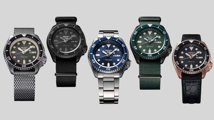 Seiko představilo novou kolekci 5 Sports (zdroj: hodinkee.com)